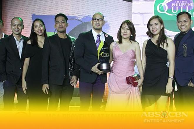 Mga proyekto at kampanya ng ABS-CBN, pinarangalan sa 16th Philippine Quill Awards