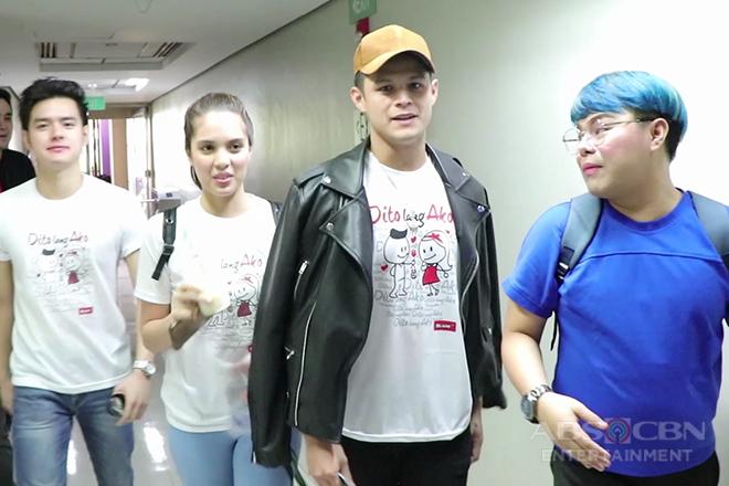 HOTSPOT: Dj JhaiHo, inikot ang ABS-CBN para maka-chikahan ang mga Kapamilya stars!