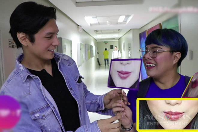 HOTSPOT: Guess That Lips Challenge with Joseph Marco