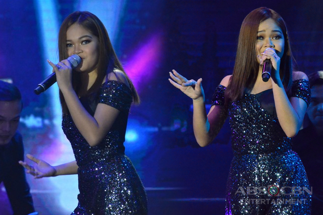 The FrontRow Experience: An ABS-CBN Trade Event: Janine Berdin sets the stage on fire with powerful performance