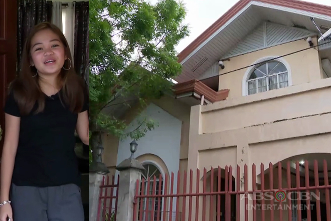 Janine Berdin tours viewers inside her house for the first time!