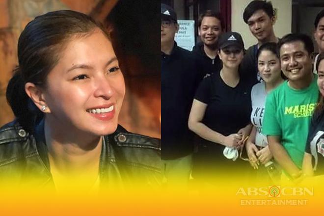 Angel Locsin, tumulong sa mga evacuee sa Marikina