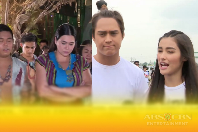 LizQuen, 'mixed emotions' sa last taping day ng 'Bagani'