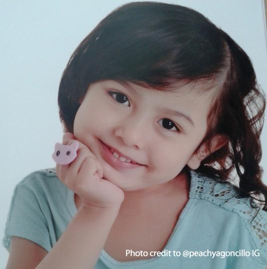 Tingnan ang cute at nagniningning na pics ni Jana Agoncillo