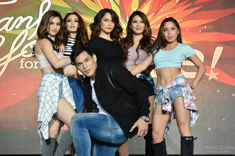 PHOTOS: Jessy, Sarah, Arci, Coleen, Zeus at Dawn's sizzling dance number at the Thank You For The Love Trade Event