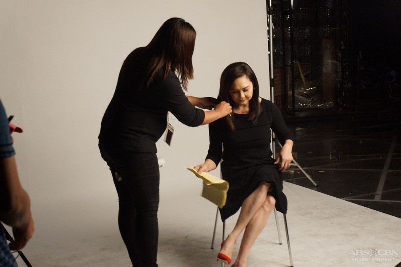 BEHIND-THE-SCENES: Charo Santos-Concio for #MMK25, soon!
