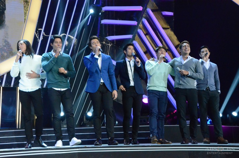 ABS-CBN Christmas 2015 Special: Kilig  song number of the most sought after Kapamilya leading men