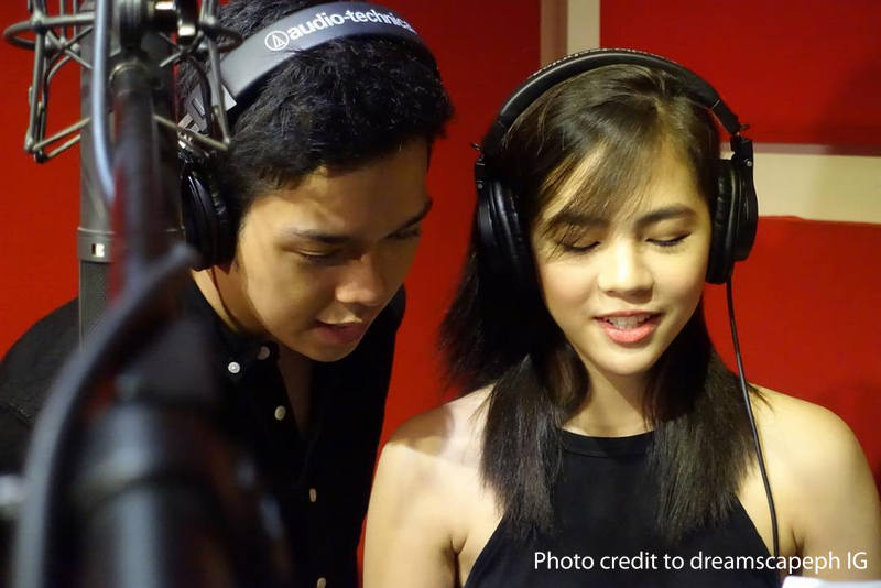 LOOK: Janella and Elmo record 'Born For You' with the international singer & songwriter David Pomeranz