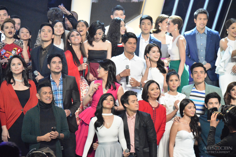 PHOTOS: The brightest Kapamilya stars and executives came full-force in saying 'thank you for the love'