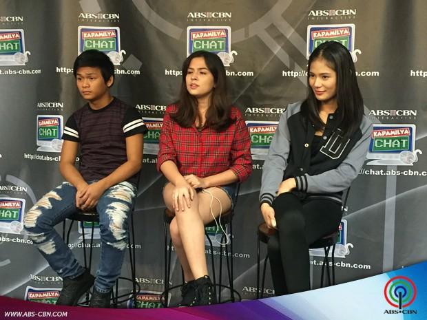 Kapamilya Chat with Everything About Her teen stars Alexa Ilacad, Devon Seron and Buboy Villar