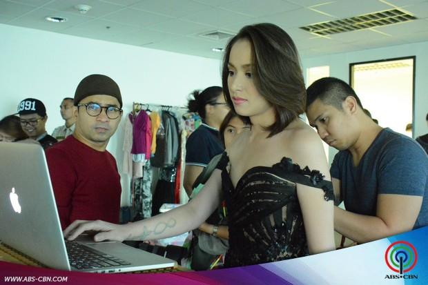 BEHIND-THE-SCENES PHOTOS of Cristine Reyes & Zanjoe Marudo's promo shoot for their upcoming teleserye 'Tubig at Langis'