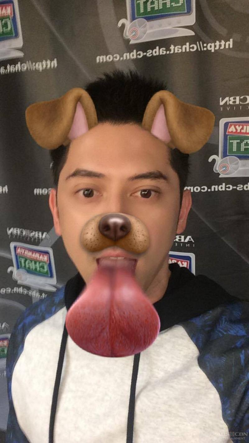 Kapamilya Snapchat: Kakai and Ahron