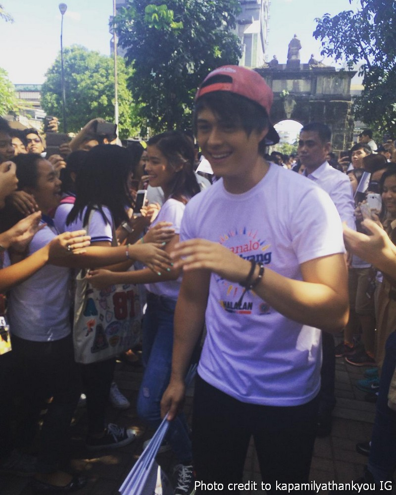BEHIND-THE-SCENES: Ipanalo Ang Pamilyang Pilipino SID Shoot