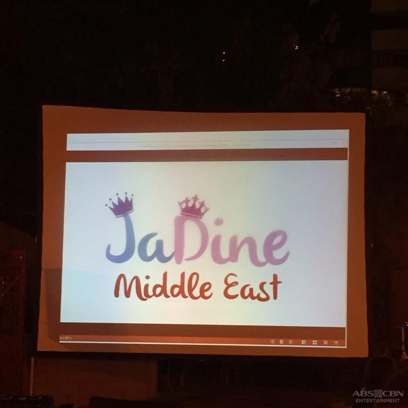 PHOTOS: JADINE exclusive bonding with fans in Dubai