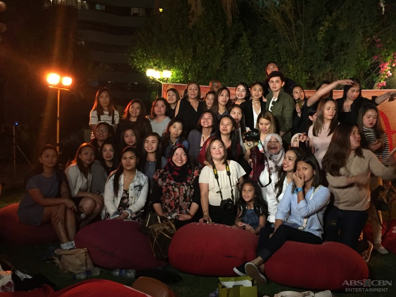 PHOTOS: JADINE exclusive bonding with fans in Dubai