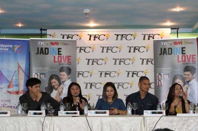 PHOTOS: JADINE In Love the World Tour in Doha, Qatar