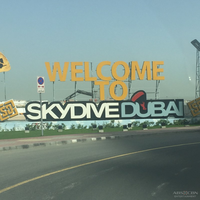 PHOTOS: JADINE Skydiving Adventure in Dubai