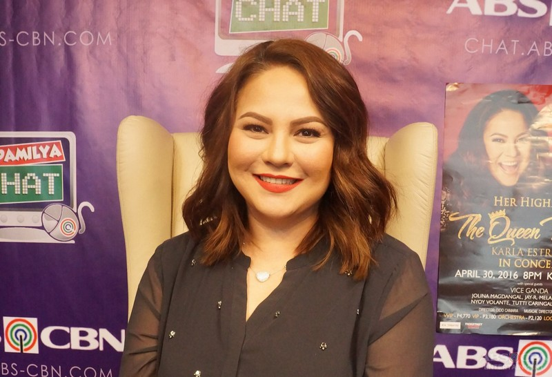 LOOK: Queen Mother Karla Estrada, um-aura sa Kapamilya Chat