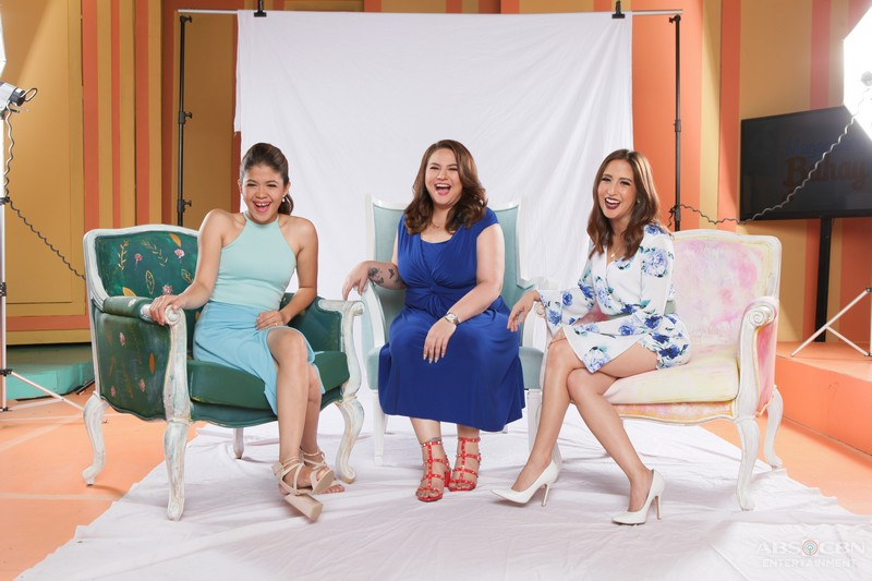 PICTORIAL BTS: Magandang Buhay's beautiful Momshies of  Karla, Melai and Jolina