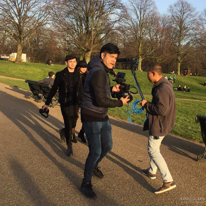 CAUGHT ON CAM: JaDine's precious moments in London