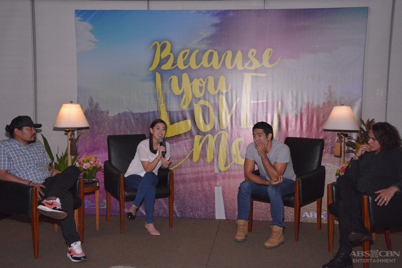 "PHOTOS: Jake, Yen & Gerald topbill upcoming teleserye ""Because You Love Me"""