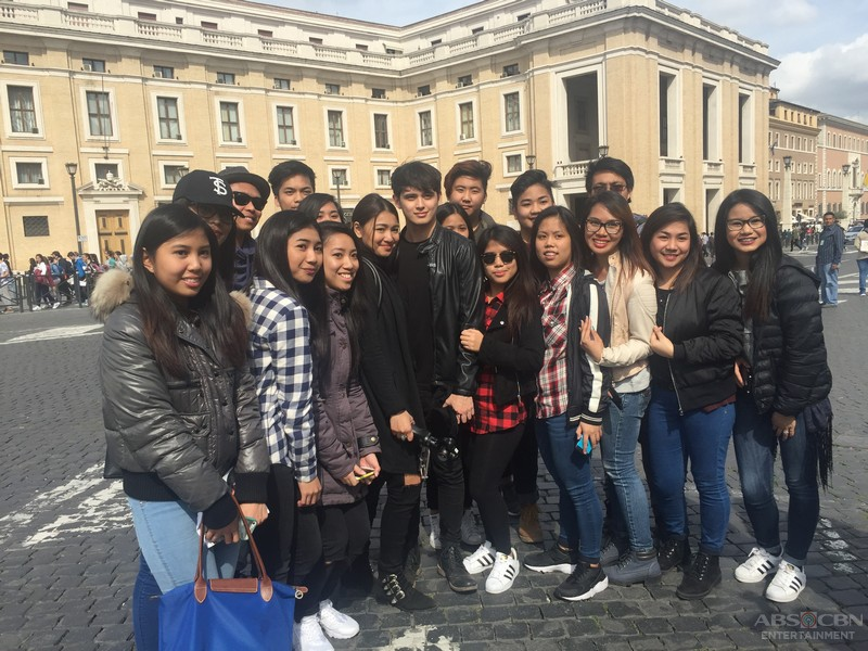 PHOTOS: JaDine Flying High on Love Special in Italy