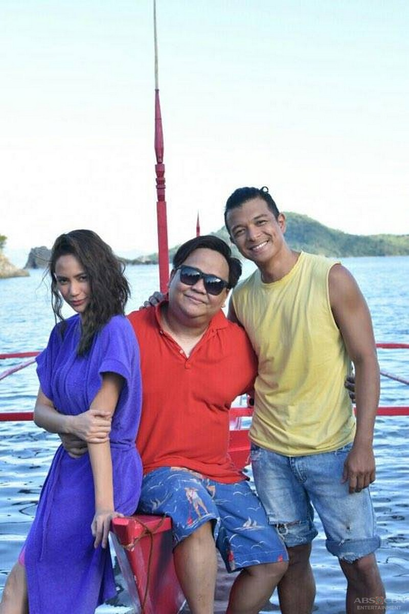 Never Ever Say Goodbye 1st taping day in Caramoan