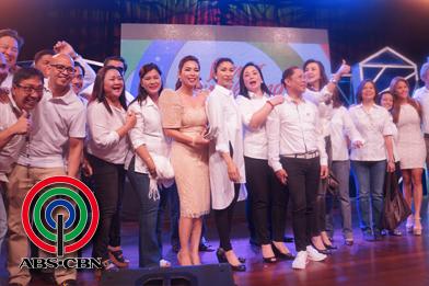 BTS PHOTOS: Isang Pamilyang Pilipino: The ABS-CBN Flag Raising Ceremony