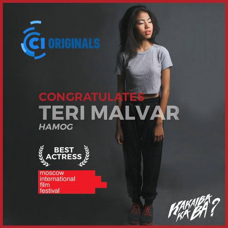 Cinema One Originals Teri Malvar makes history, named Moscow International Film Festival best actress
