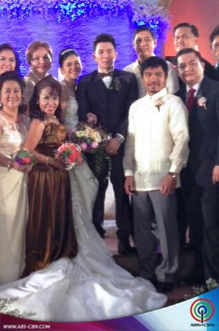 PHOTOS: Sneak Peek of Melai Cantiveros and Jason Francisco Wedding