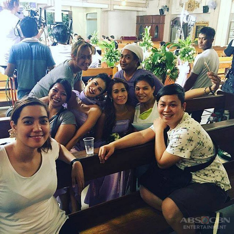 Behind The Scene Photos: Till I Met You Taping