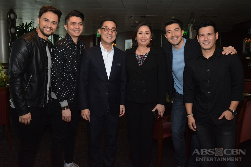 PHOTOS: Luis Manzano signs an exclusive three-year contract with ABS-CBN