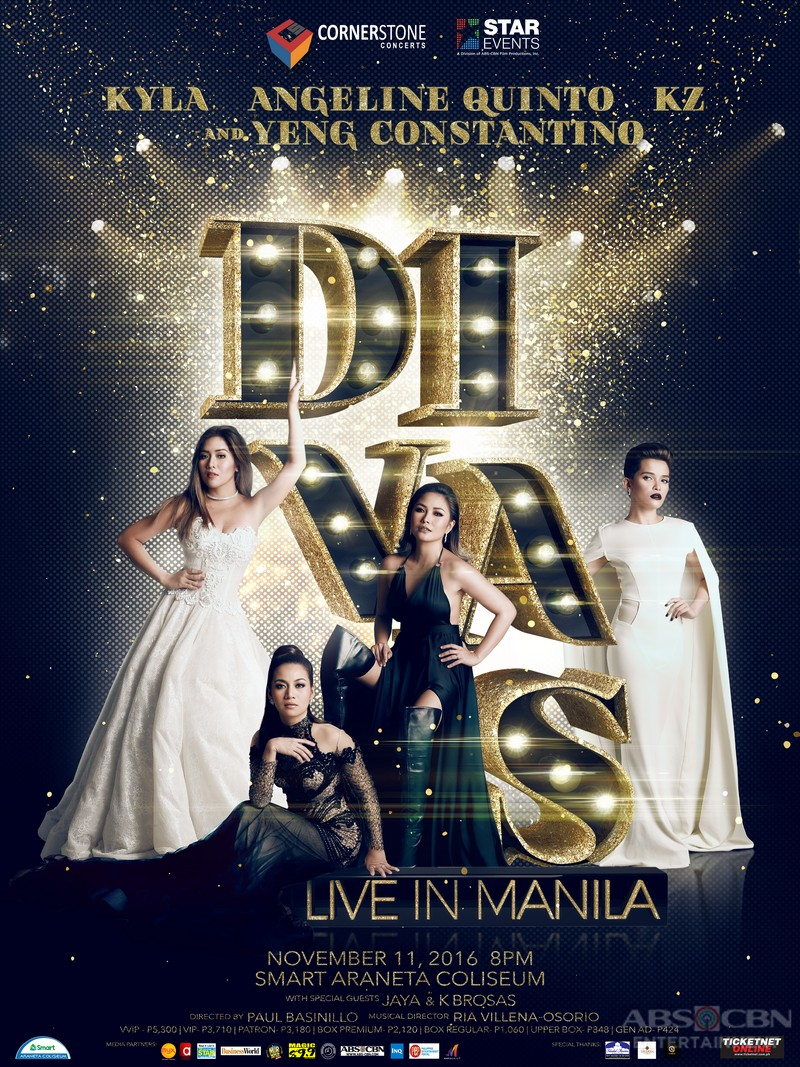 DIVAS LIVE IN MANILA this November 11 at the Araneta Coliseum