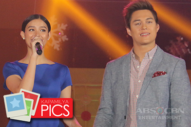 CAPTURED ON CAM: LizQuen kilig at the ABS-CBN Trade Event 2016