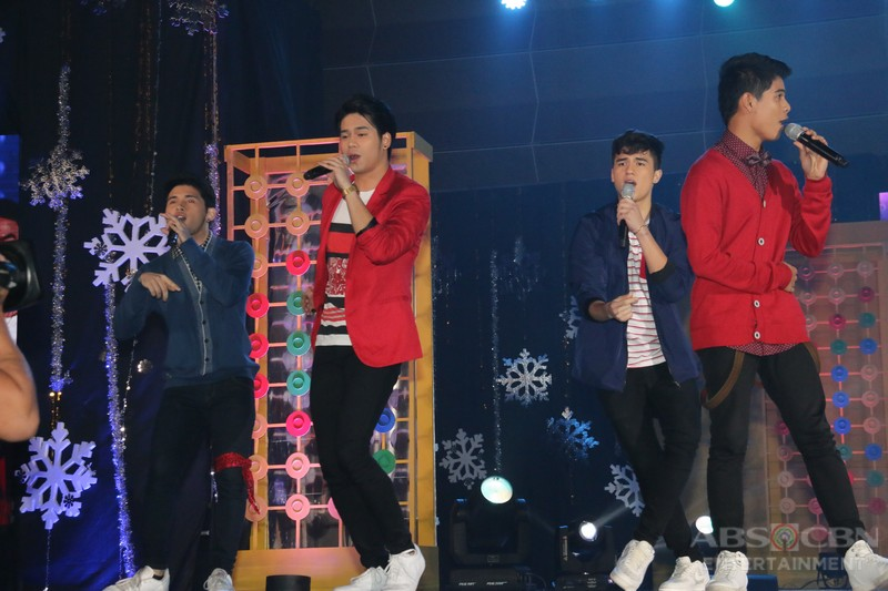 LOOK: Pinoy Boyband Superstar Heartthrobs, nagpakilig sa ABS-CBN Trade Event 2016
