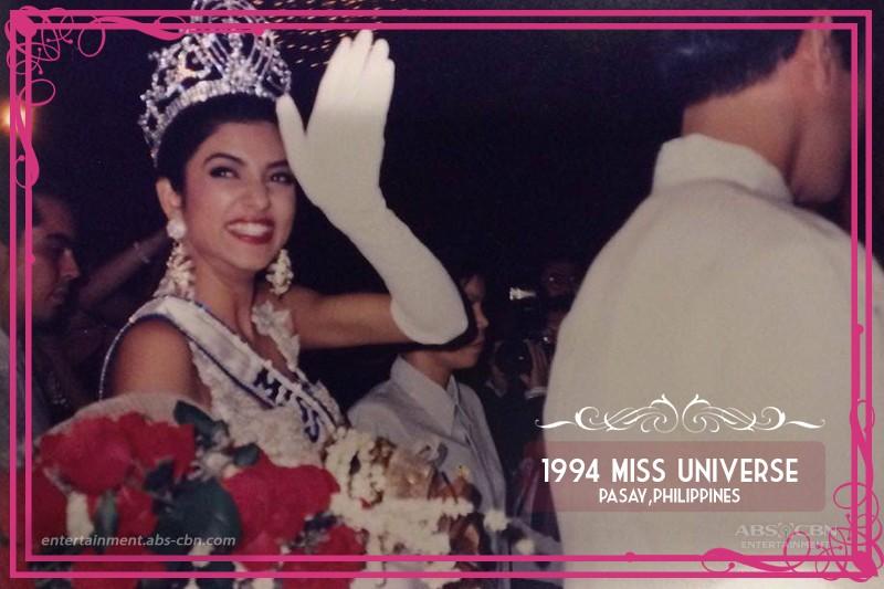 Throwback: 1994 Miss Universe