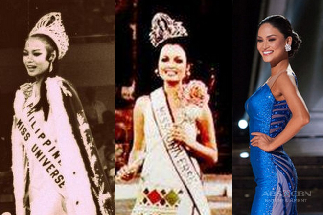 Throwback: Miss Universe Philippines Title Holders in their most dashing and elegant long gowns