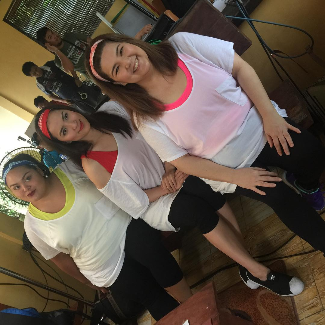 BEHIND-THE-SCENES: On the set of 'My Ex and Whys'