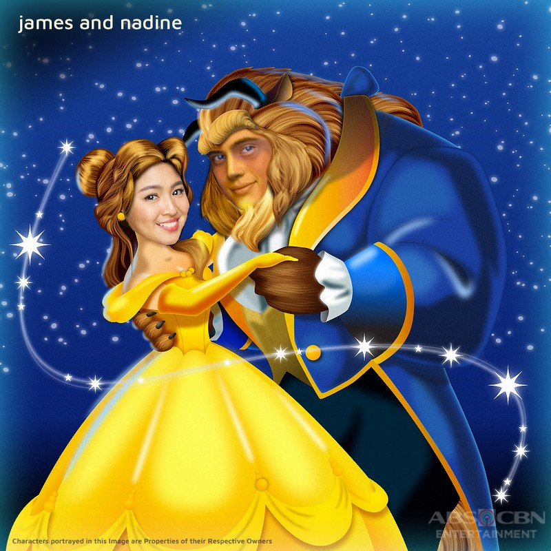 FAN ART: Kapamilya Stars as Belle and the Beast