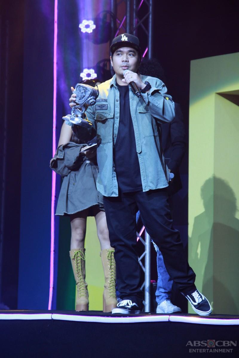 Sarah, Darren and Gloc-9 bag major wins at the MYX Music Awards 2017