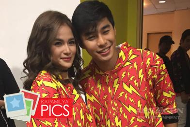 BACKSTAGE PHOTOS: Ikaw Ang Sunshine Ng Buhay Ko, Isang Pamilya Tayo: The ABS-CBN Trade Event 2017