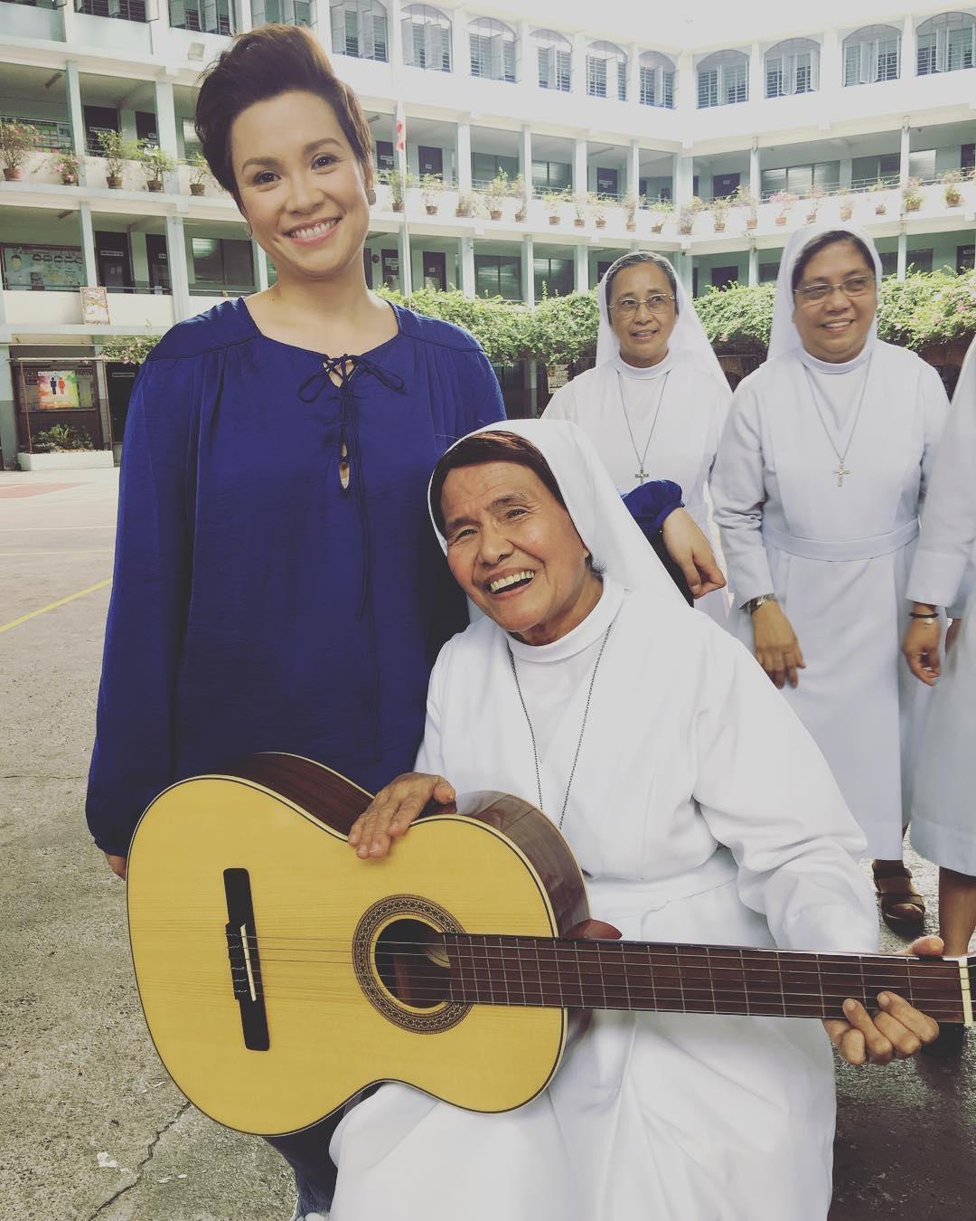 2017 Summer SID PHOTOS: The Voice Teens Coaches jam with Sister Rocker Gloria Agagon