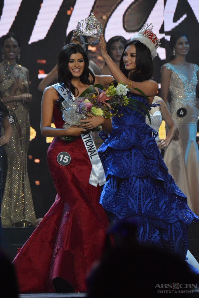PHOTOS: Maria Angelica de Leon crowned as Binibining Pilipinas International 2017
