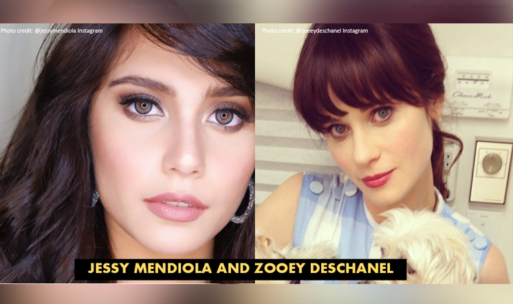 12 Kapamilya stars and their Hollywood celebrity lookalikes!