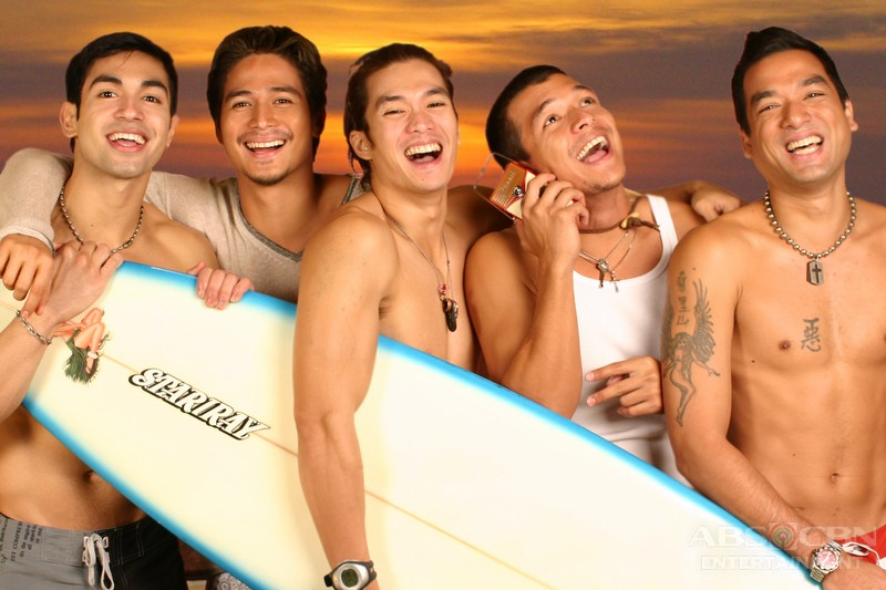 Throwback: Piolo, Jericho, Diether, Carlos and Bernard in Bora: Sons Of The Beach (2005)