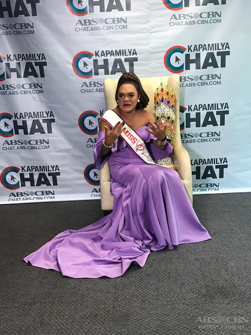 PHOTOS: Kapamilya Chat With Miss Q & A 1st Hall Of Famer Juliana Parizcova Segovia