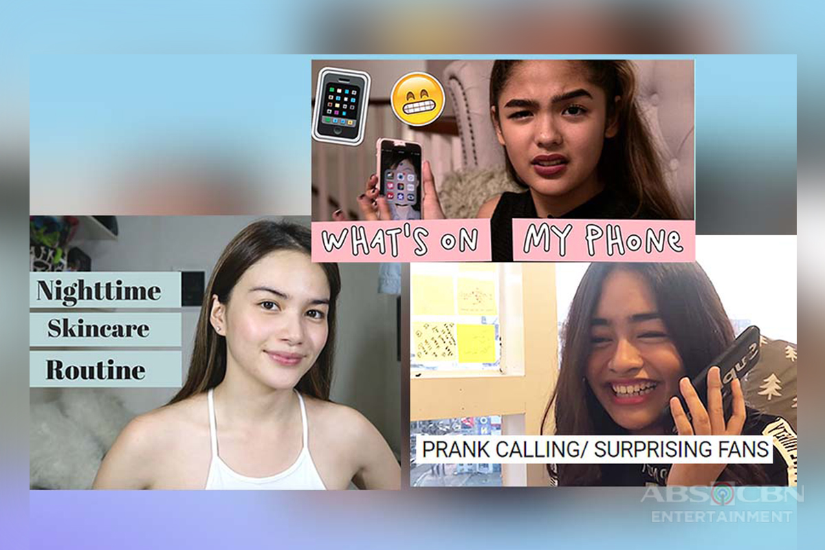 18 Kapamilya stars you might not know have YouTube Channels!