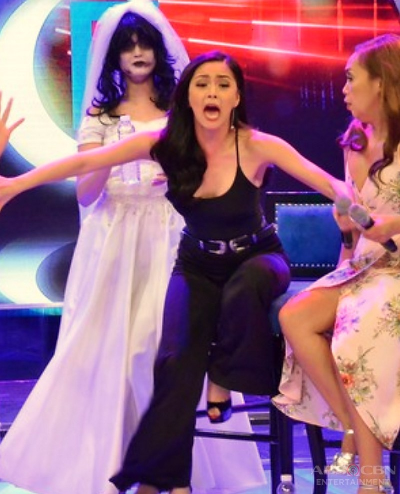 LOOK: Here are 15 photos of Kapamilya stars who've been caught getting SCARED!