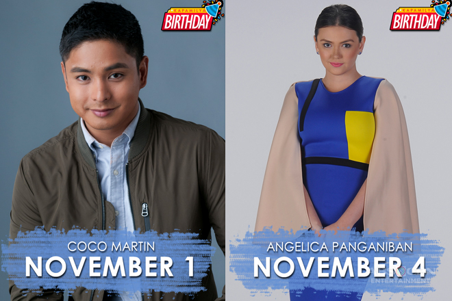 PHOTOS: Kapamilya celebrity birthdays this  November