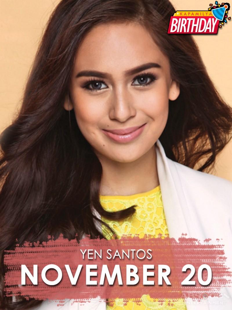 PHOTOS: Kapamilya celebrity birthdays this  November